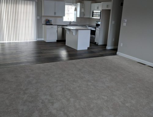 More great Flooring in a new construction home