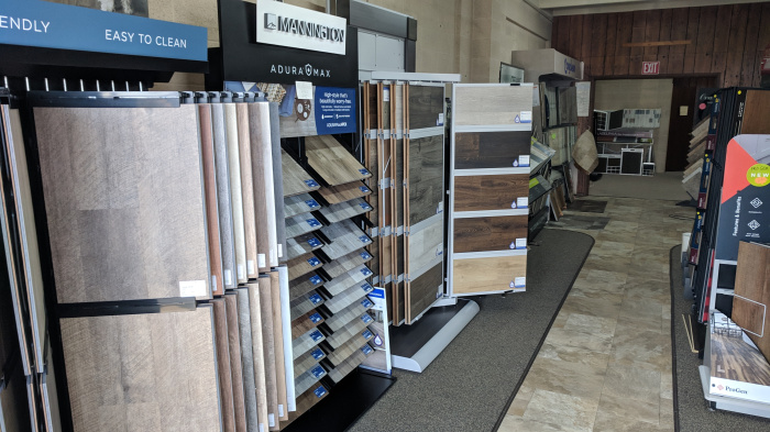 Flooring store with affordable carpet, hardwood, vinyl, laminate, and more.